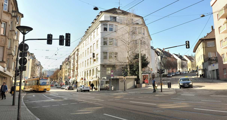 Anfahrt Hölderlinplatz Hausarztpraxis